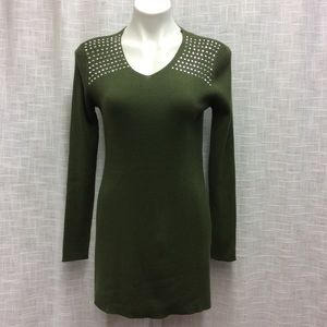 Questions? Hunter Green Tunic Size S